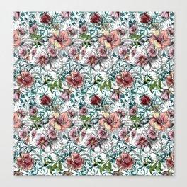 Floral Summer Canvas Print