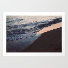 El mar que te trae a mi orilla Art Print