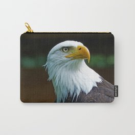 American Bald Eagle Head Carry-All Pouch