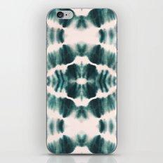 BOHEMIAN EMERALD SHIBORI iPhone & iPod Skin