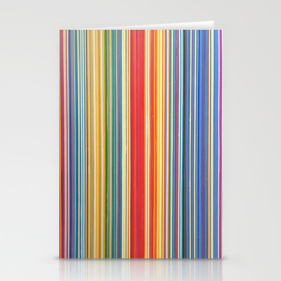 STRIPES 9 Stationery Cards