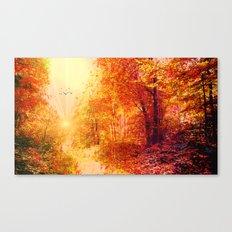 Autumnal dream Canvas Print