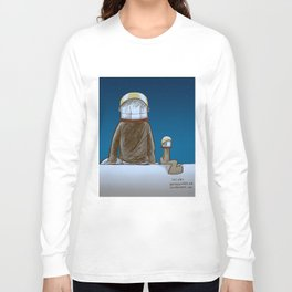 The universe, time and a squirrel Long Sleeve T-shirt