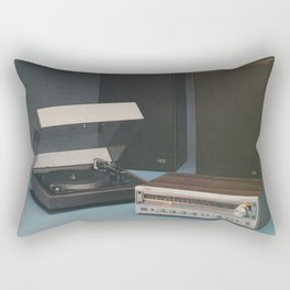Vintage 1970's HiFi Rectangular Pillow