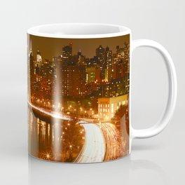 New York City Night Skyline. Coffee Mug