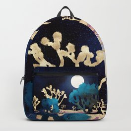 Desert Lake Moonlight Backpack