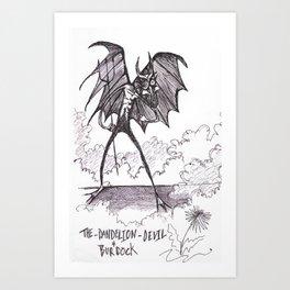 Dandilion & Burdock Devil Art Print