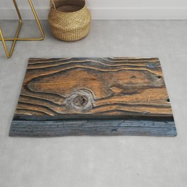 Yellowstone Lake Boardwalk Rug