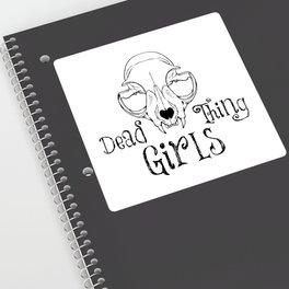 Dead Thing Girls Sticker