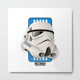 Stormtrooper Classic Helmet Metal Print