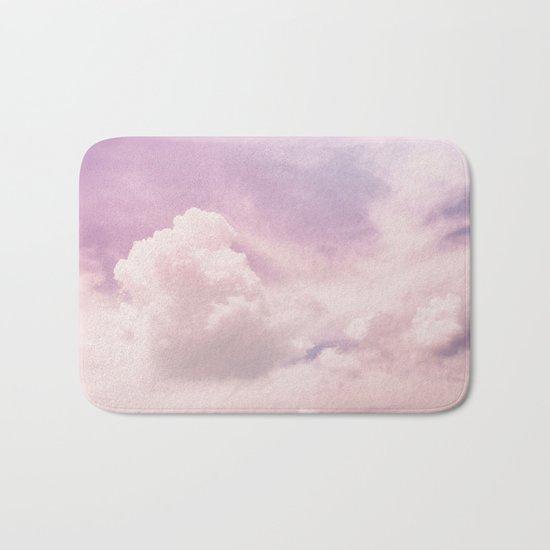 Upon The Clouds Bath Mat