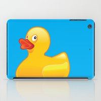 donald duck iPad Cases featuring Duck Duck by McGrathDesigns