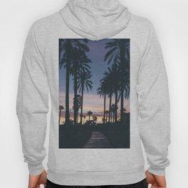 SUNRISE - SUNSET - PALM - TREES - NATURE - PHOTOGRAPHY Hoody