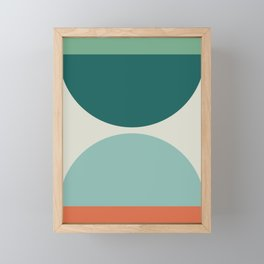 Abstract Geometric 20 Framed Mini Art Print
