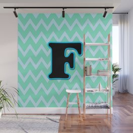 Letter F Wall Mural