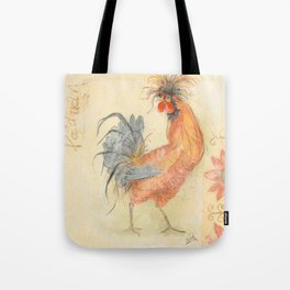 Tuscan Rooster Red Tote Bag