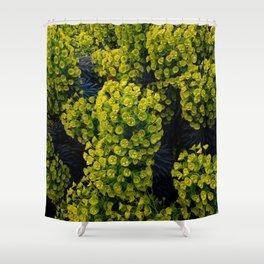 Euphoric Euphorbia Shower Curtain