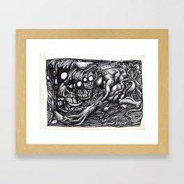 Grendel Mother Dream Framed Art Print