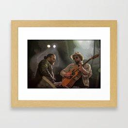 Dynamic Duo  Framed Art Print