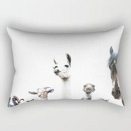 Animal Crew Rectangular Pillow