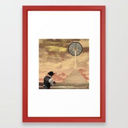 Tuer le temps Framed Art Print