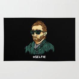 Van Gogh: Master of the #Selfie Rug