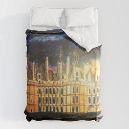 Chambord Chateau – Romantic France Duvet Cover