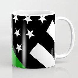 The Thin Green Line Flag Coffee Mug