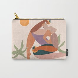 Abstract Figure lll Carry-All Pouch