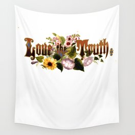 Love the Truth Floral motto Prang 11 Wall Tapestry