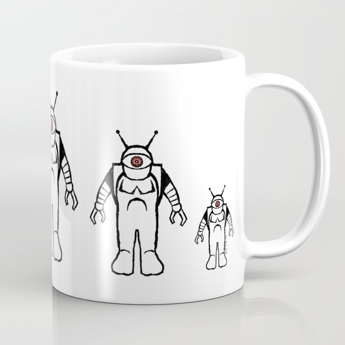 Eyebots on March Coffee Mug