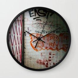Enter the Subway Wall Clock