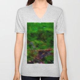Enchanted Forest - Study II Unisex V-Neck
