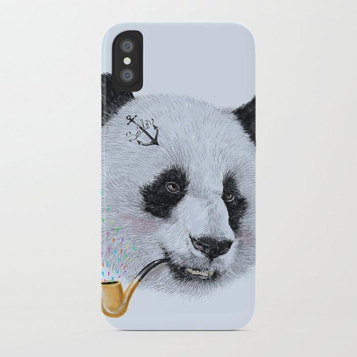 Panda Sailor iPhone Case