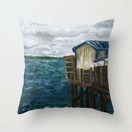 Lost Tranquility Throw Pillow