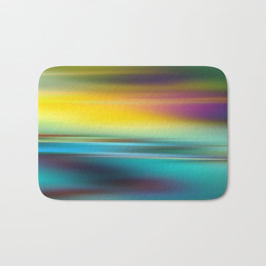 The Colors of the Sunset Bath Mat