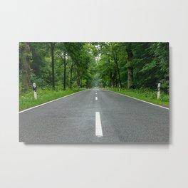 Blue Highways Metal Print