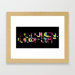 PXL IV Framed Art Print