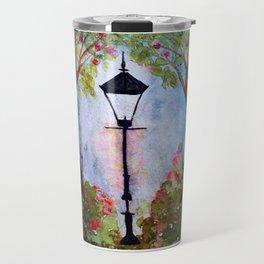 The Lamp Post Travel Mug