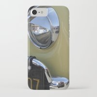 volkswagon iPhone & iPod Cases featuring Yellow Love Bug by wildVWflower