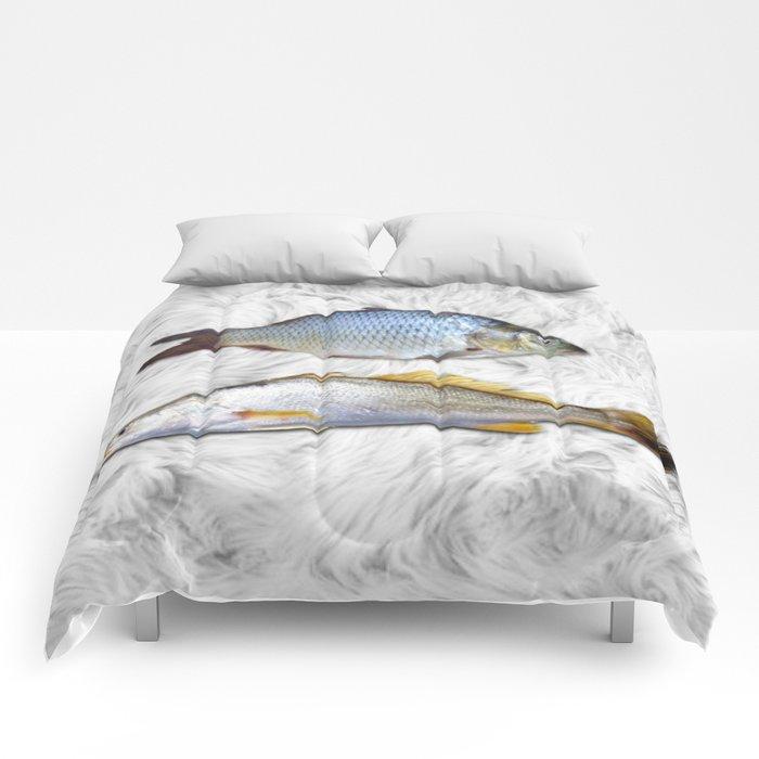 Fish on Fur Comforters