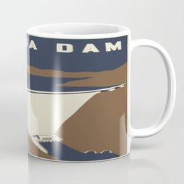 Vintage poster - Fontana Dam Coffee Mug