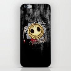 Totenknopf iPhone & iPod Skin