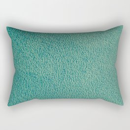 Green Fuzz Rectangular Pillow