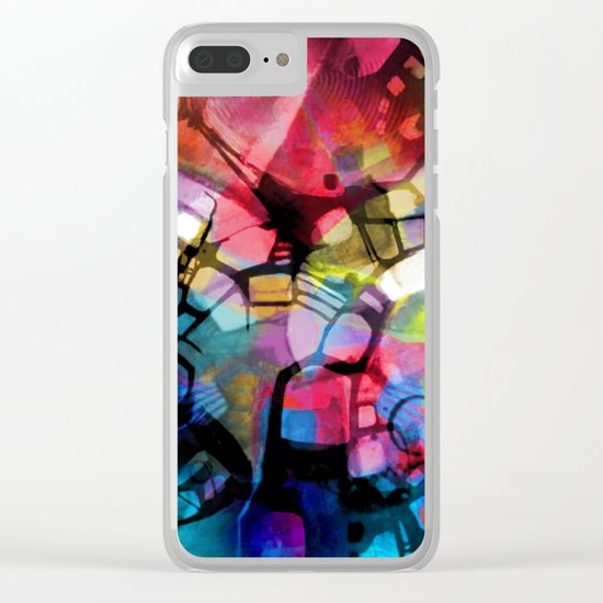 Night Decends Clear iPhone Case