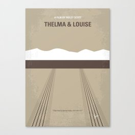No189 My Thelma and Louise Canvas Print