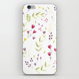 Berry Bouquet iPhone Skin