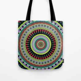 exotic Mandala Tote Bag
