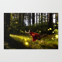 when are we leaving Canvas Print