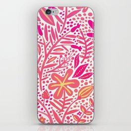 Garden – Pink Palette iPhone Skin